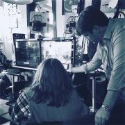"On Set of ""Castle"" - Korean Dialect Coach & Script Translator in Los Angeles"